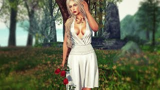 The little dress in Second life