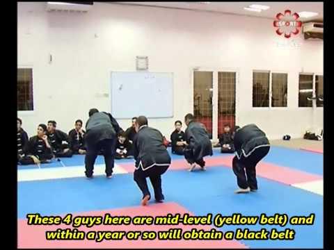 """Part 10: Taolu #2 (""""Muziquan"""") - Kuwait Sports Channel Martial Arts Special w/ Sifu Khader Deng"""