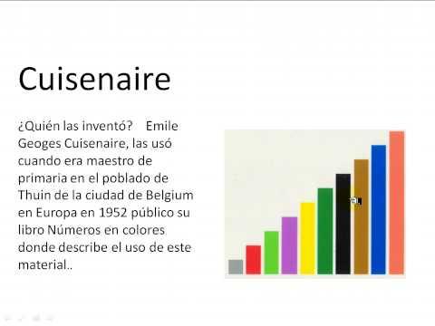 Matematicas - Regletas de Cuisenaire