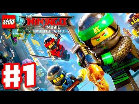 Lego Ninjago Movie Game Gameplay Walkthrough Part 1 Prologue And