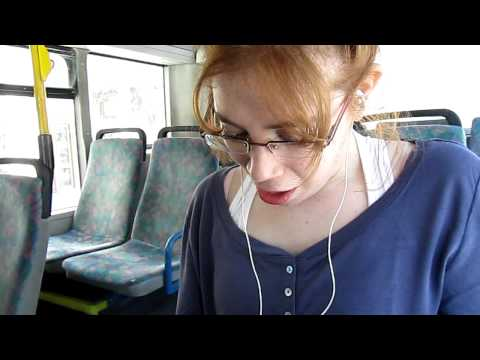 2girls1cup 1 Girl On A Bus Reaction video
