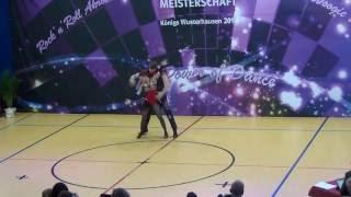 Anja Gentner & Christian Gartmeier - Deutsche Meisterschaft 2016