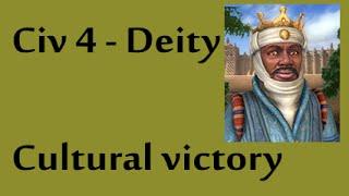 Civ 4 Deity Cultural victory [1/2]