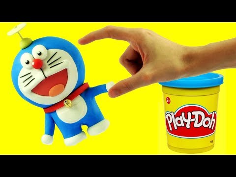 Doraemonドラえもん - Superhero Play Doh Cartoons & Stop Motion Movies for babies thumbnail