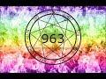 963 Hz GOD TONE MERKABA CHAKRA GOD ABILITY DEEP SLEEP KUNDALINI OPEN PINEAL GLAND mp3