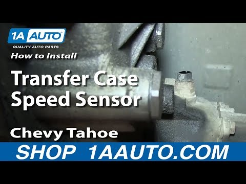 How To Install Replace Transfer Case Speed Sensor 1995-99 Chevy Tahoe