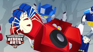 Transformers: Rescue Bots Season 2 - 'Rescue Bots Vs. Spiders' Official Clip