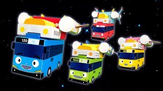 Tayo songs l Adventures in Space l Paper Play l Tayo the Little Bus