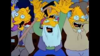 The Simpsons - Monorail Town Hall Meeting & Song
