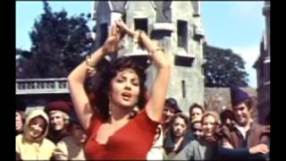 """""""El jorobado de Notre Dame""""  / película /Gina Lollobrígida"""