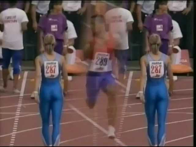 The European Atheltic Championships in Split, Yugoslavia 1990