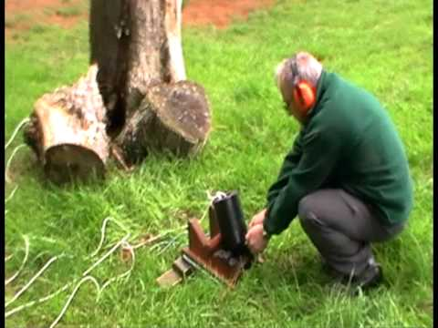 Installing an Antenna into a tree the quick way