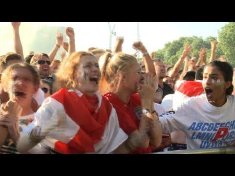 England fans overjoyed at early Trippier goal vs Croatia thumbnail