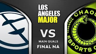 EG vs Chaos NA Final ESL One Los Angeles Major 2020 Highlights Dota 2