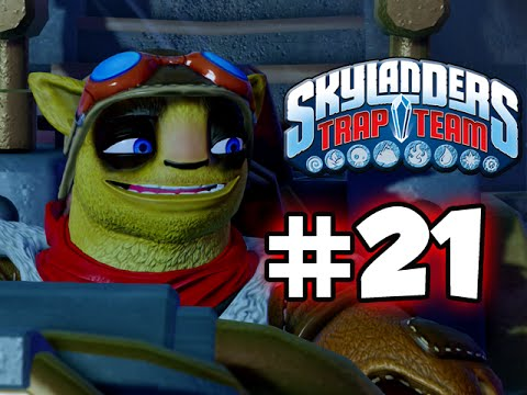 SKYLANDERS TRAP TEAM GAMEPLAY WALKTHROUGH - PART 21 -  MABU!