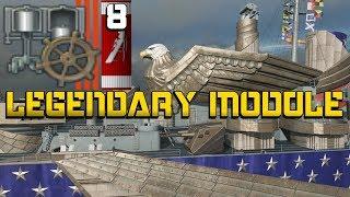 Des Moines - Legendary Module - 8 Kills || World of Warships