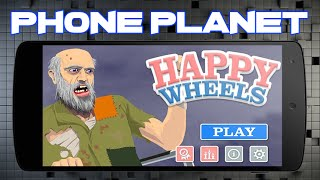 Обзор игры Happy Wheels на ANDROID - Лучшие игры на андроид 2015 PHONE PLANET