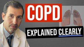 COPD (& Emphysema) Explained Clearly - Pathophysiology & Treatment