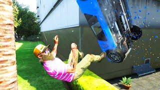 GTA V Unbelievable Crashes/Falls - Episode 41