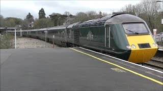 Trains at Newton Abbot | 08/03/17