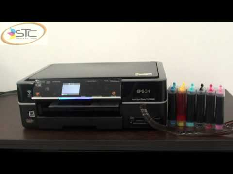 Multifuncional Epson Stylus Photo TX720WD Sistema de Tinta Continua