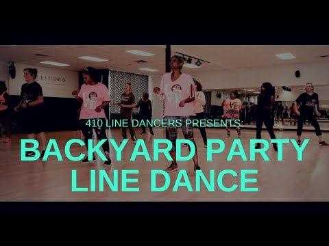 Backyard Party Soul Line Dancing