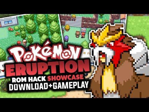 Pokemon Eruption - Pokemon Rom Hack Review/Showcase