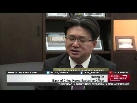 Many in South Korea using the Chinese yuan