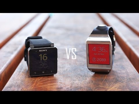 Samsung Galaxy Gear vs Sony Smartwatch 2 - Detailed Comparison