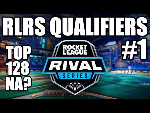 RLRS QUALIFIERS #1 | Can We Make Top 128 NA? (Rocket League Gameplay)