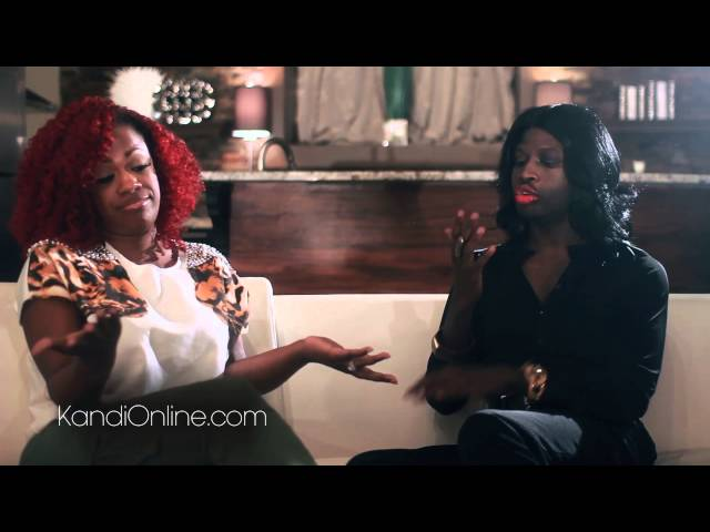 Kandi Burruss and Funky Dineva Talk about  Kirk and Mary Jane Drama (Love and Hip Hop Atlanta)