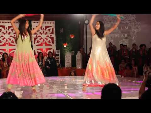 Pakistani shadi function mein beautiful mehndi dance must watch...
