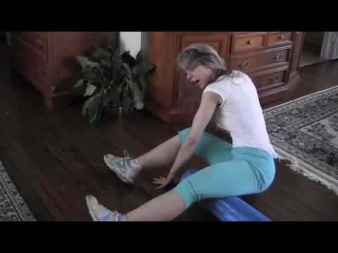 Amazing Stretch Exercises with Foam Roller for Legs. Thighs. Butt. Upper Back and More