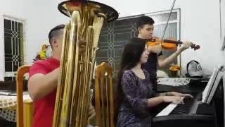 Hino 247 CCB - Tuba , Piano , Violino