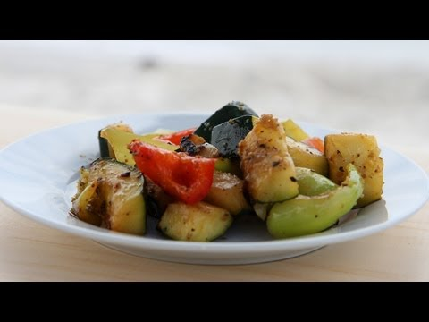 Easy Beach Grilled Veggies Recipe