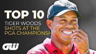 Top 10: Tiger Woods Best Shots at the PGA Championship | Golfing World