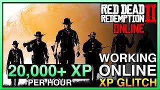 WORKING Red Dead Redemption 2 Online Glitch! Red Dead Online XP Glitch! RDR2 Online XP Glitch!