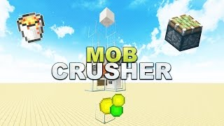 Minecraft - Mob Crusher // Schneller XP farmen - Tutorial 1.12