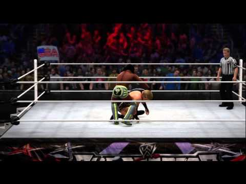 WWE 2K14 Jack Swagger Full Gameplay Review With Signature Finisher Move