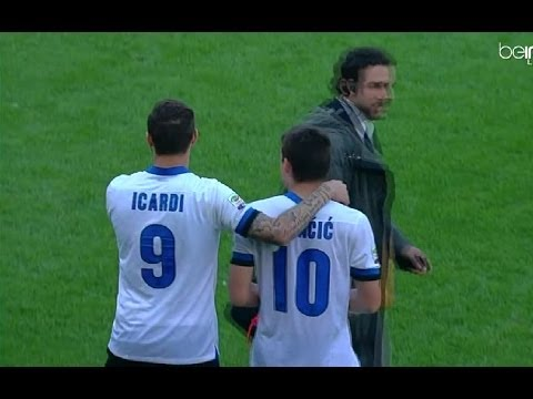 Mauro Icardi And Mateo Kovačić vs Sampdoria(13/04/2014)13-14 HD 720p by轩旗