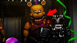 FREDBEAR ATE A CHILD | FNAF Ultimate Custom Night (UCN MOD)