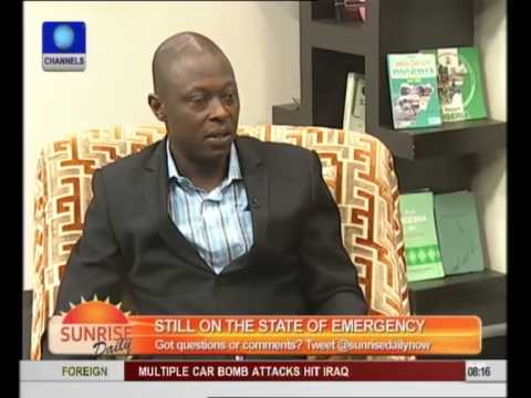 Security Consultant Supports Crackdown, Curfew In Northern Nigeria pt 3