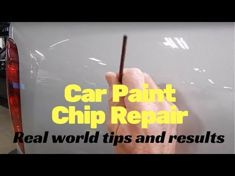 Car Paint chip repair: real world tips and results