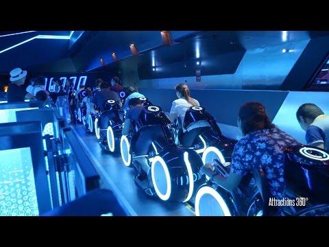 download lagu Amazing TRON Coaster Ride-through - Sha gratis