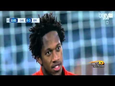 Real madrid vs Shakhtar Donetsk  4-3  HD 2015