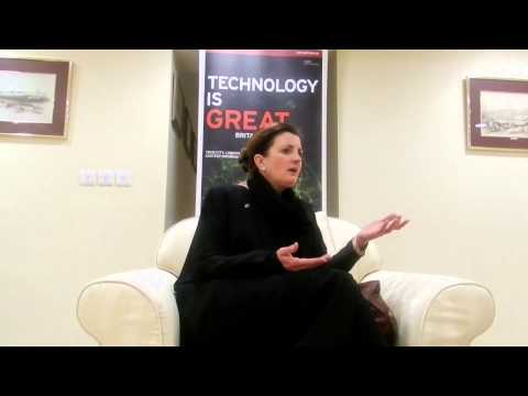 Saudi British Energy Week: Angela Mathis CEO of ThinkTank