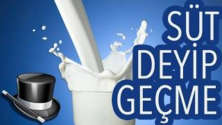 Kaybolan Süt Sihirbazlık Numarası Nasıl Yapılır? Magic :59