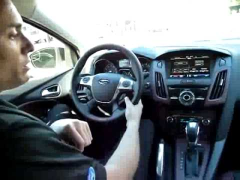 2012 Ford Focus - MyFord Touch voice command tour