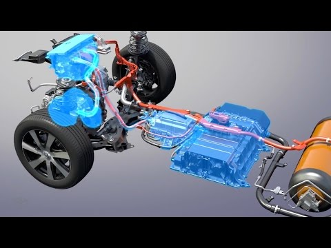 How Fuel Cell Vehicles Work – CES 2015