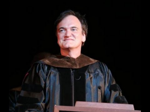 Quentin Tarantino at AFI Conservatory 2016 Commencement